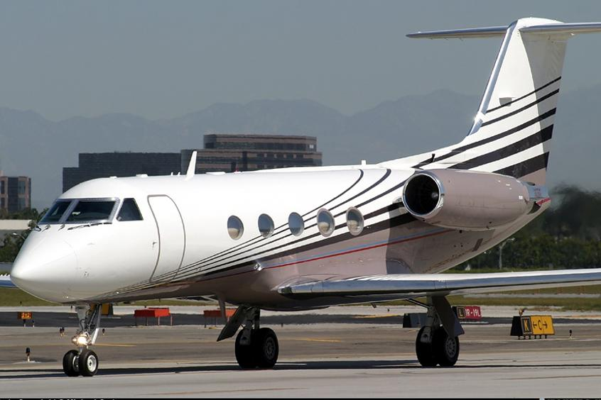 Gulfstream Jet London to Paris
