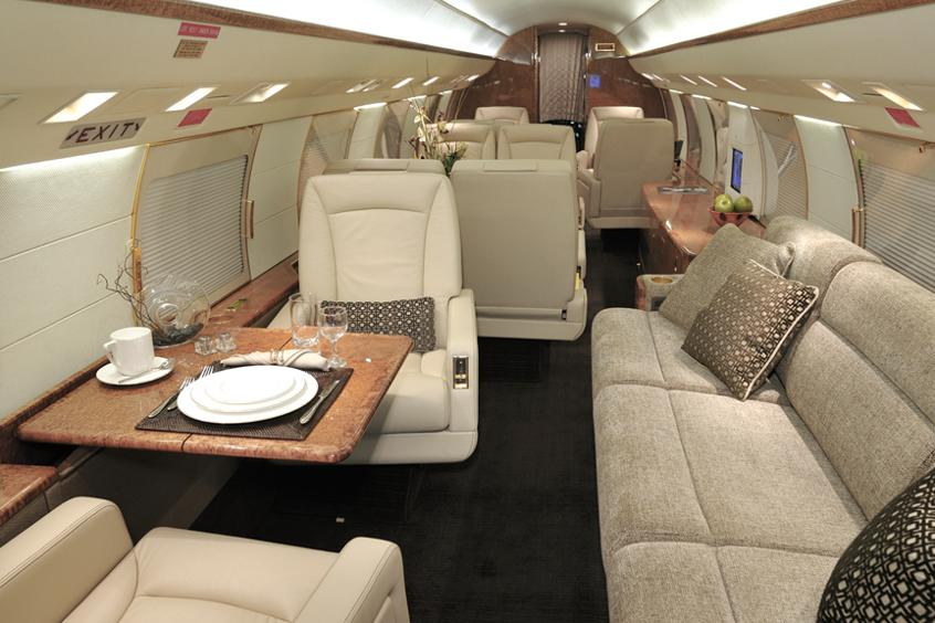 Gulfstream Jet bookings