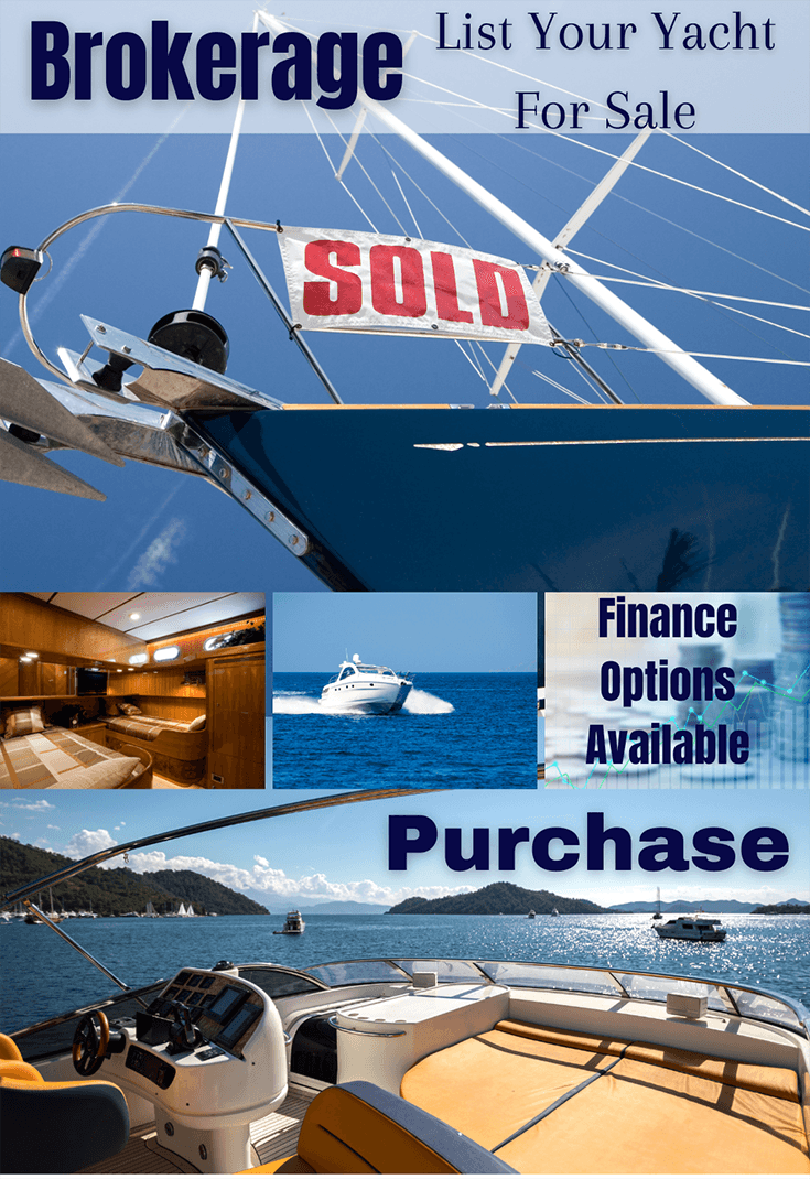 Yacht Broker Southampton specialising in motor boats for sale