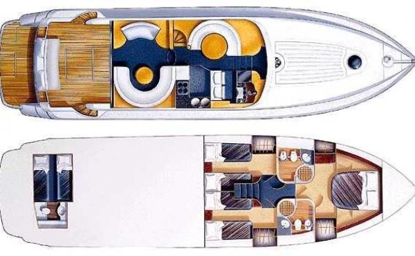 M/Y Fairline Squadron 59