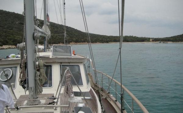 Nauticat 52 used boat for sale in Çanakkale Turkey