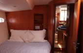 Double bedroob inside the Garcia Sailing yacht
