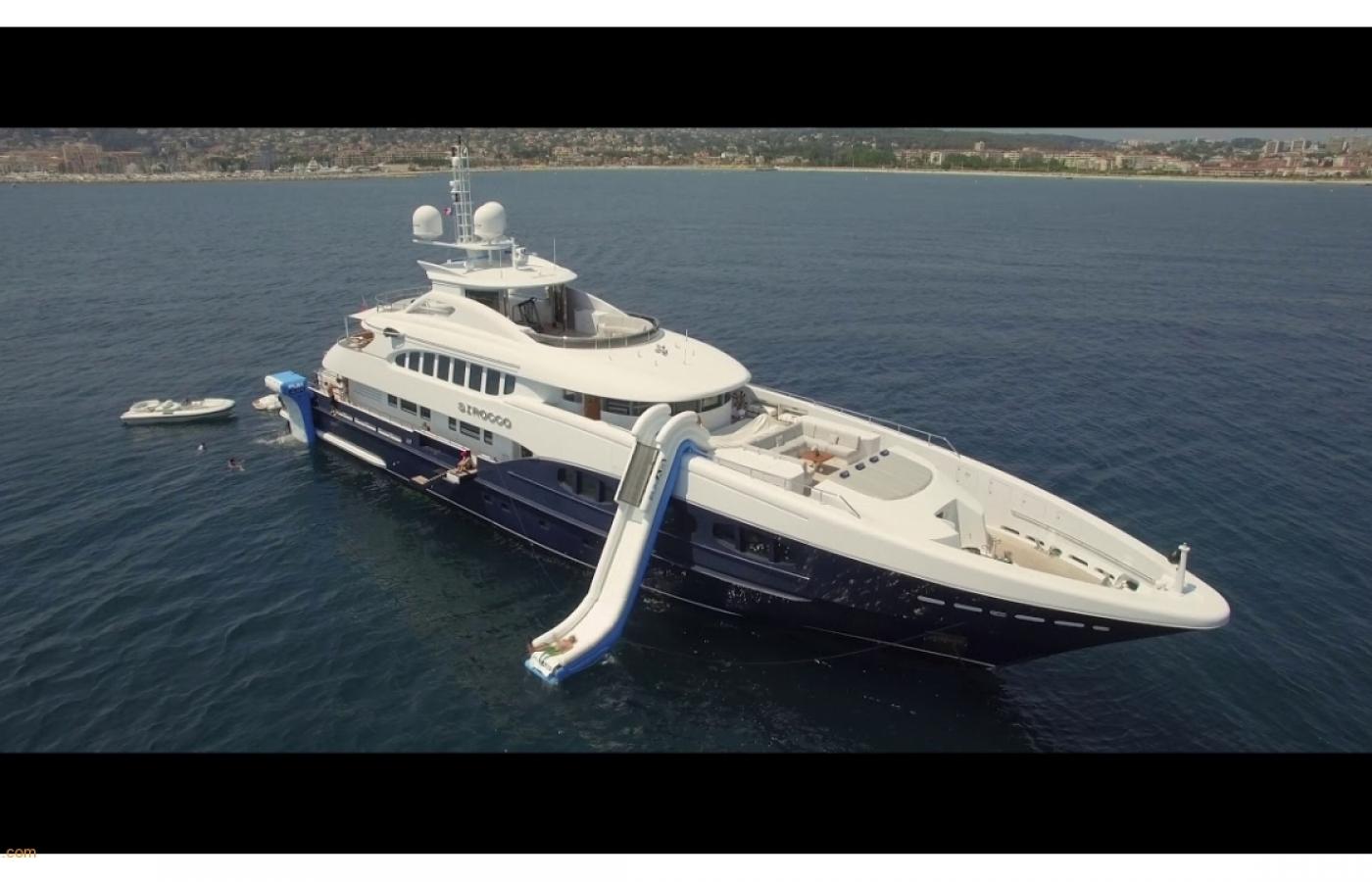Luxury yacht charters Sirocco