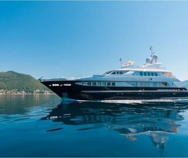Duke Town Motor Yacht on Sea