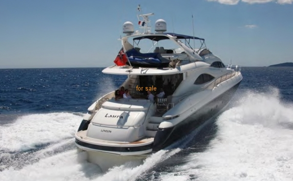 Sunseeker Manattan for sale Italy