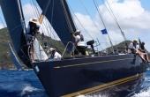 The customer built Nautor Swan 56 sailing the waters.