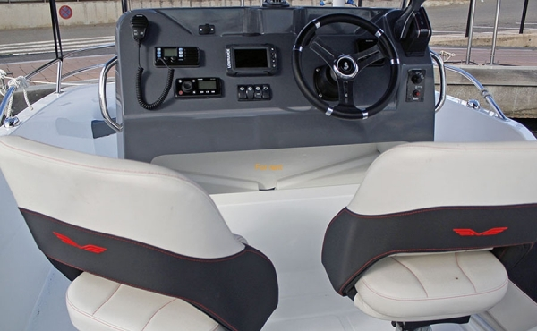 The cockpit of the Seito