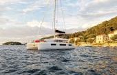 The Lagoon 50 Katka on a sailing holiday in Croatia