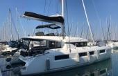 Lagoon 50 Katka docked in Croatia