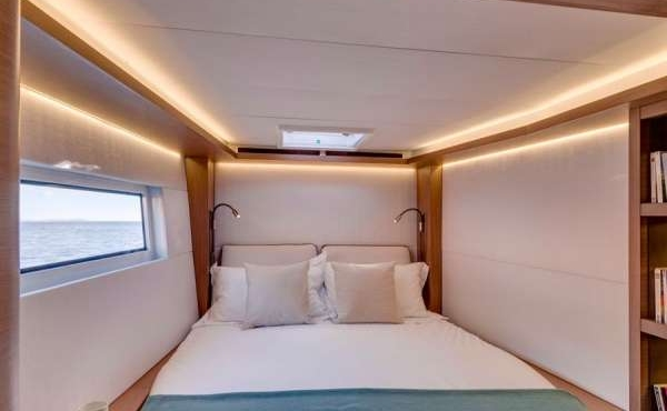 Lord Master cabin with windows for amazing see views