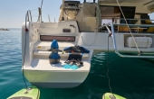 Swimming platform and yacht toys