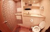 Toilet and sink inside Joey Motor Yacht