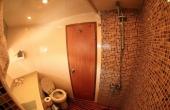 En-suite with electric shower