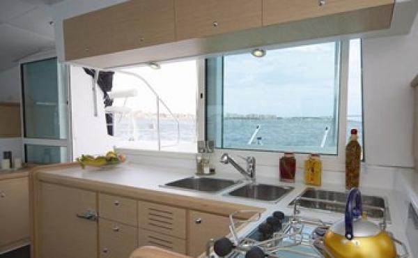 Lagoon catamarans available for charter
