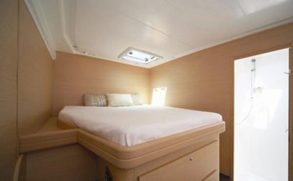 On the ionian sea and greek islands on board this catamaran