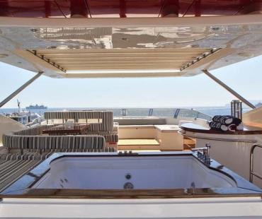 Yacht Sicilia - Jacuzzi