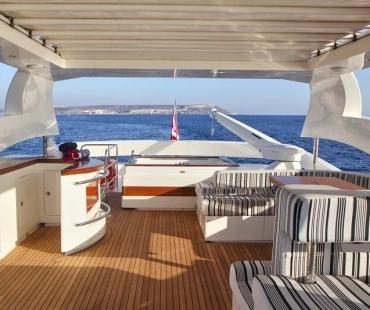 Yacht Sicilia - Sundeck