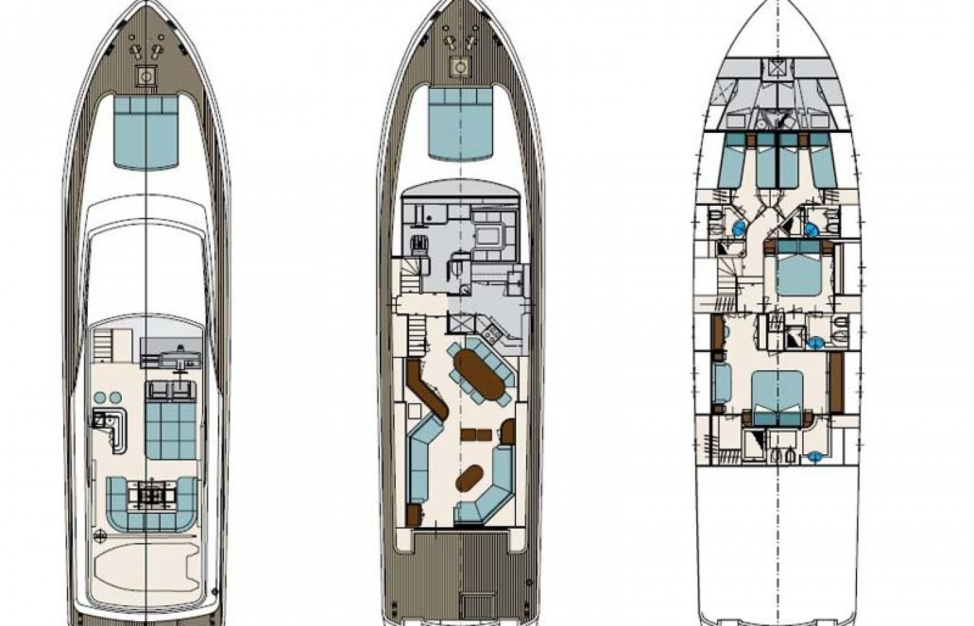 Motor Yacht Solal - Layout