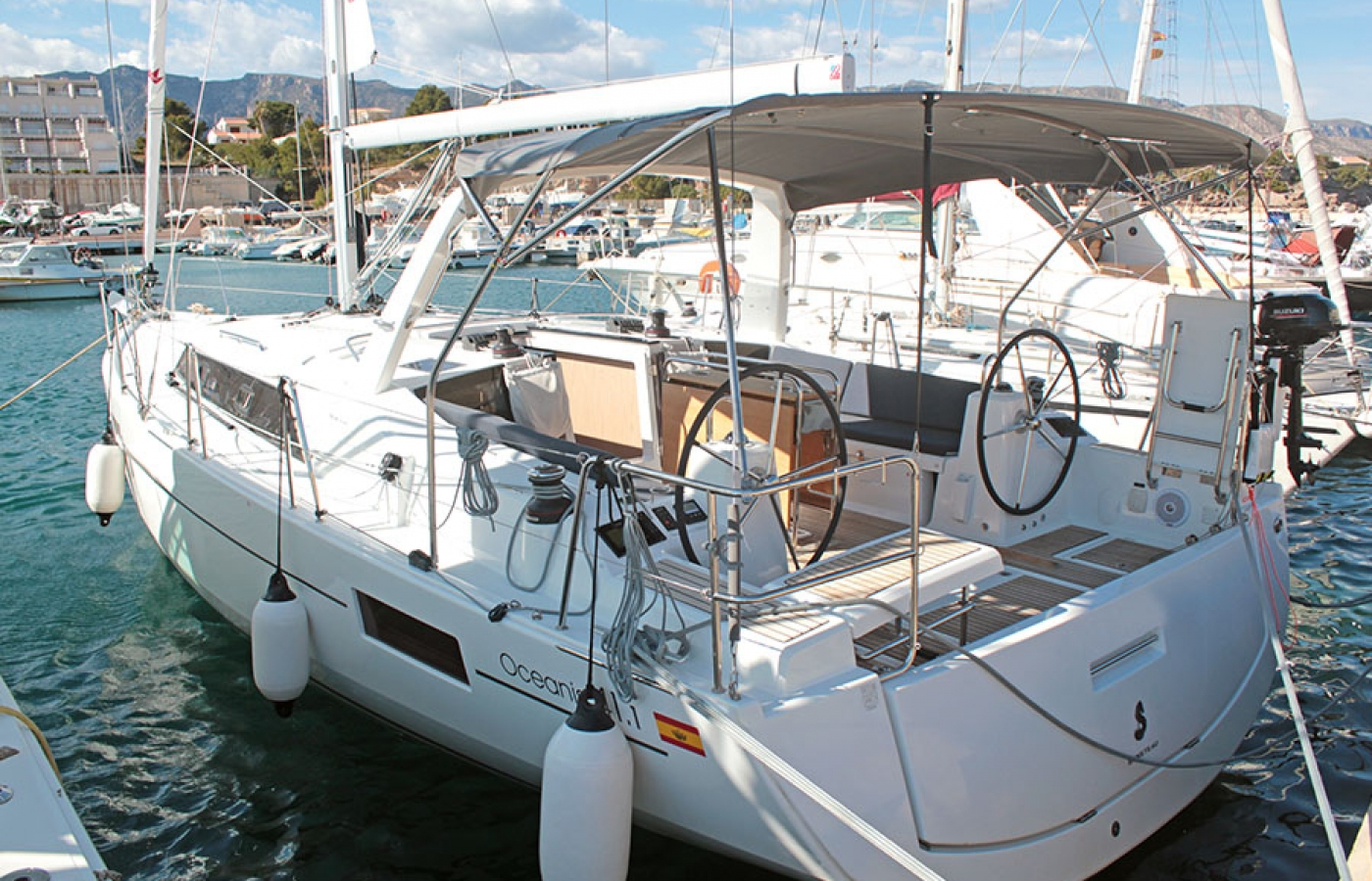 Beneteau Oceanis 41.1. IBIZA available to charter in the Balearic Islands