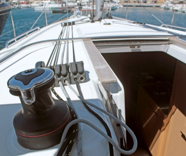 Book a family yacht charter on the Beneteau Oceanis 38.1. FREEDOM