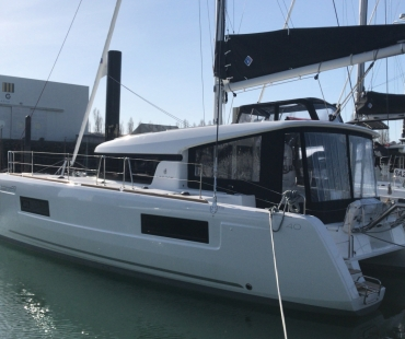 Lagoon 40 - Milù based at Capo d'Orlando