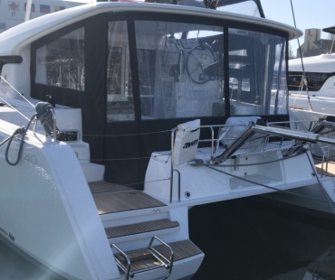 Lagoon 40 - Milù available to charter in the Aeolian Islands