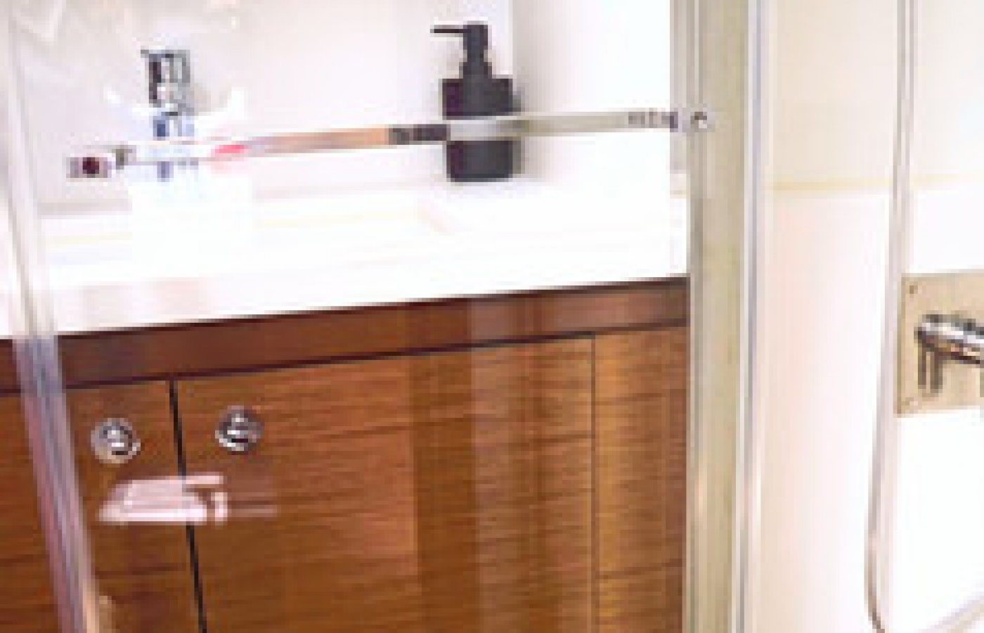 Sink with storage underneath