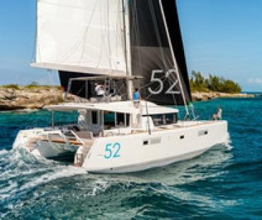 Lagoon 52 catamaran to charter from Corfu