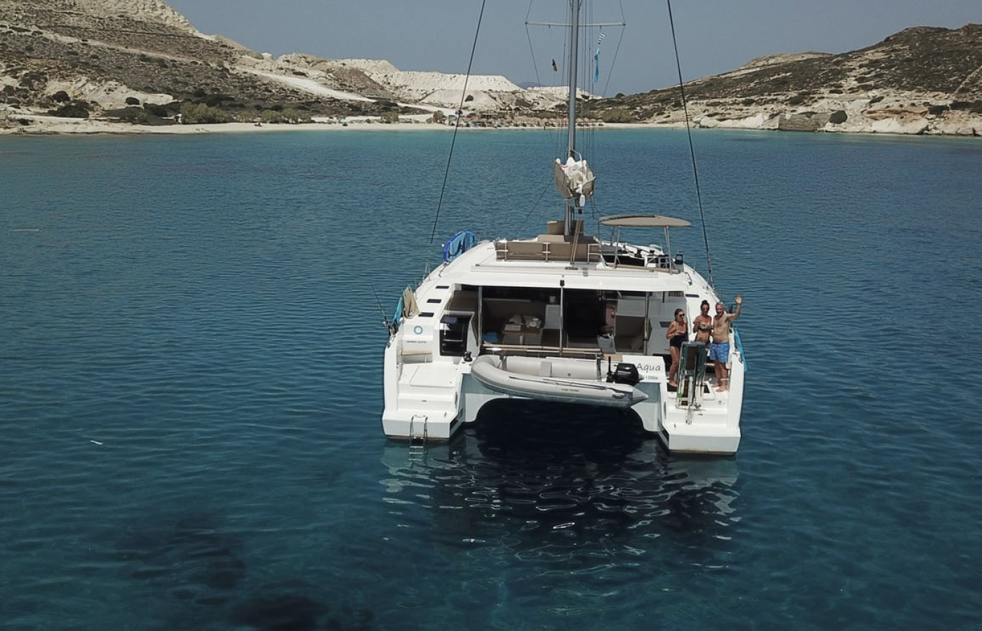 Fountaine Pajot 47 - Aqua
