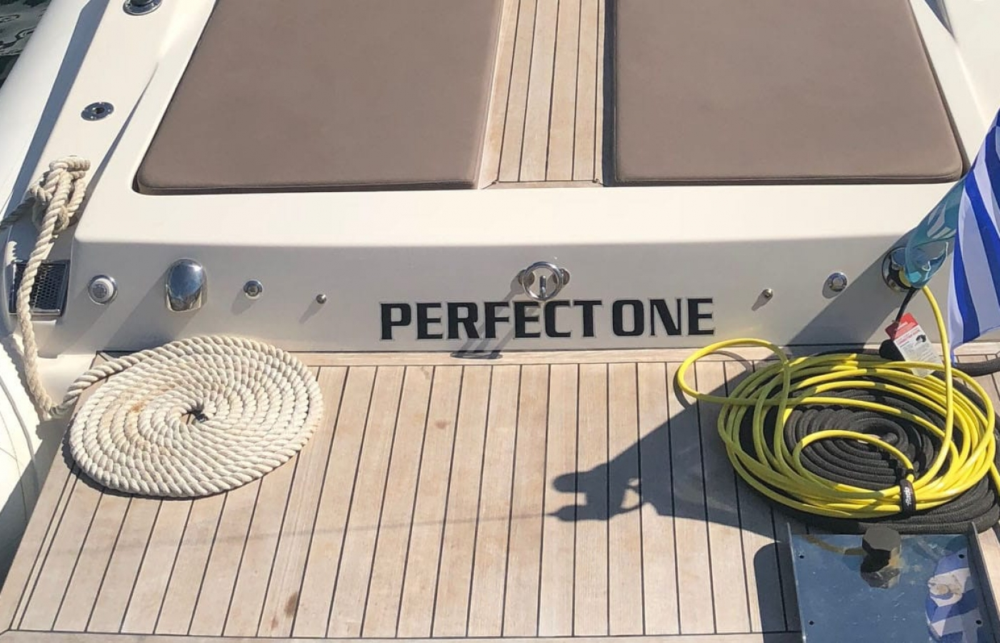 Perfect One skippered yacht available to charter in Greece