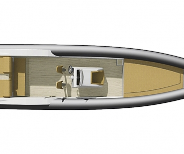 Technohull Sea DNA 999 G5- Perfect One layout with availability of 7 passengers + skipper