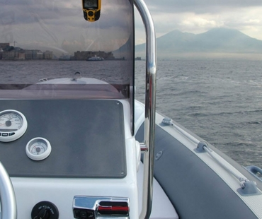 Navigation area of the day charter in Greece