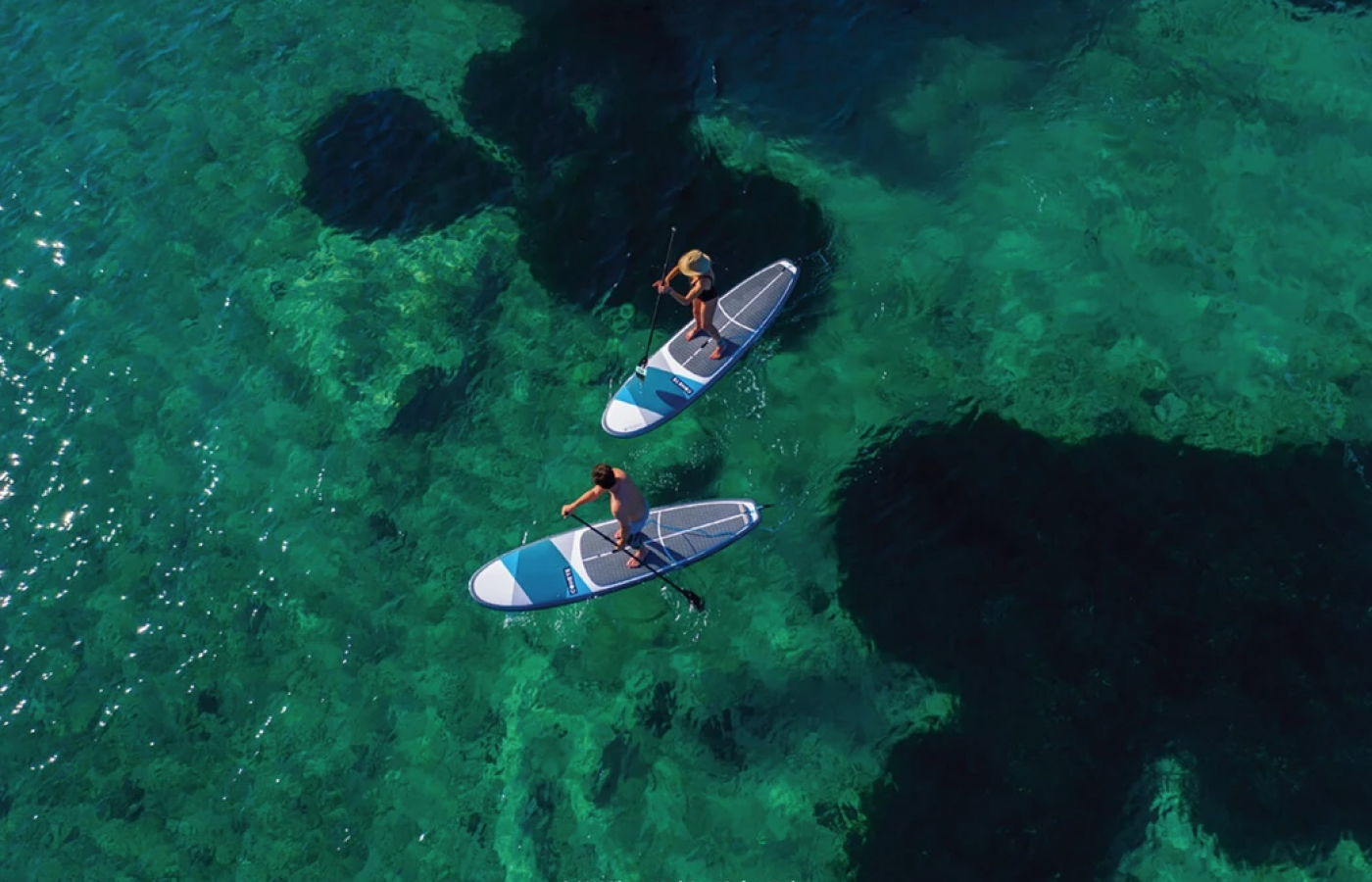 Paddleboards for the guests