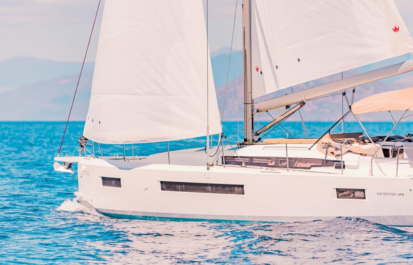 Jeanneau Sun Odyssey 490 - Lavrio