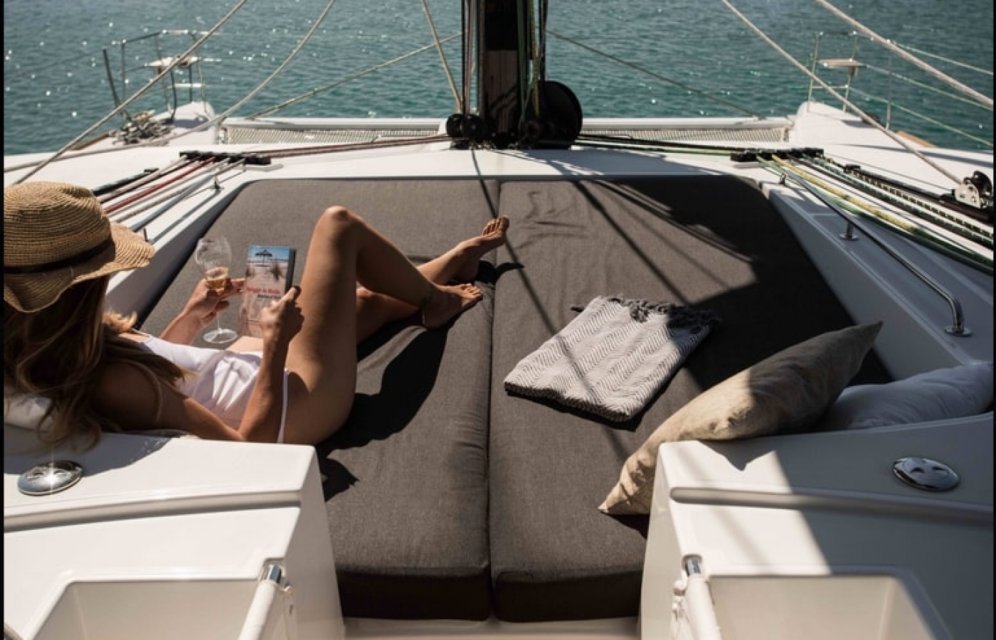 Sun Cushions  for sunbathing on Soleanis II