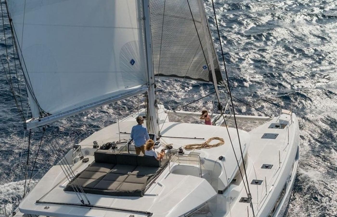 Sundeck on the top deck
