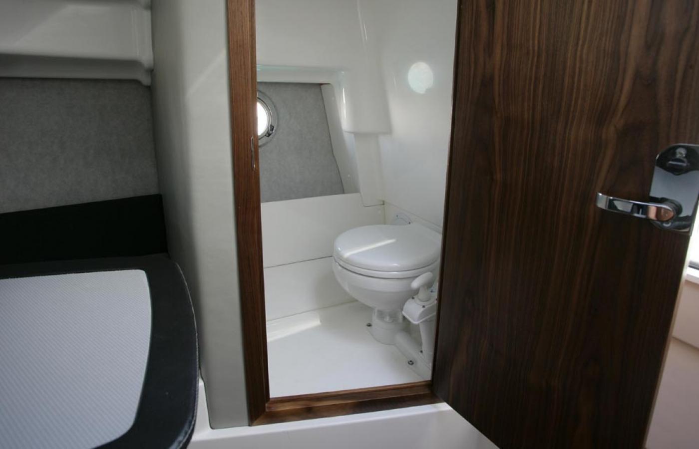 Electric toilet inside the en-suite