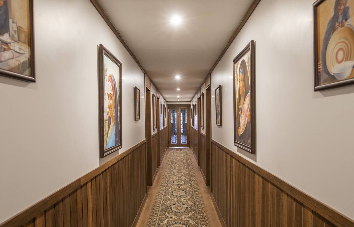 The Corridor to the Cabins 1