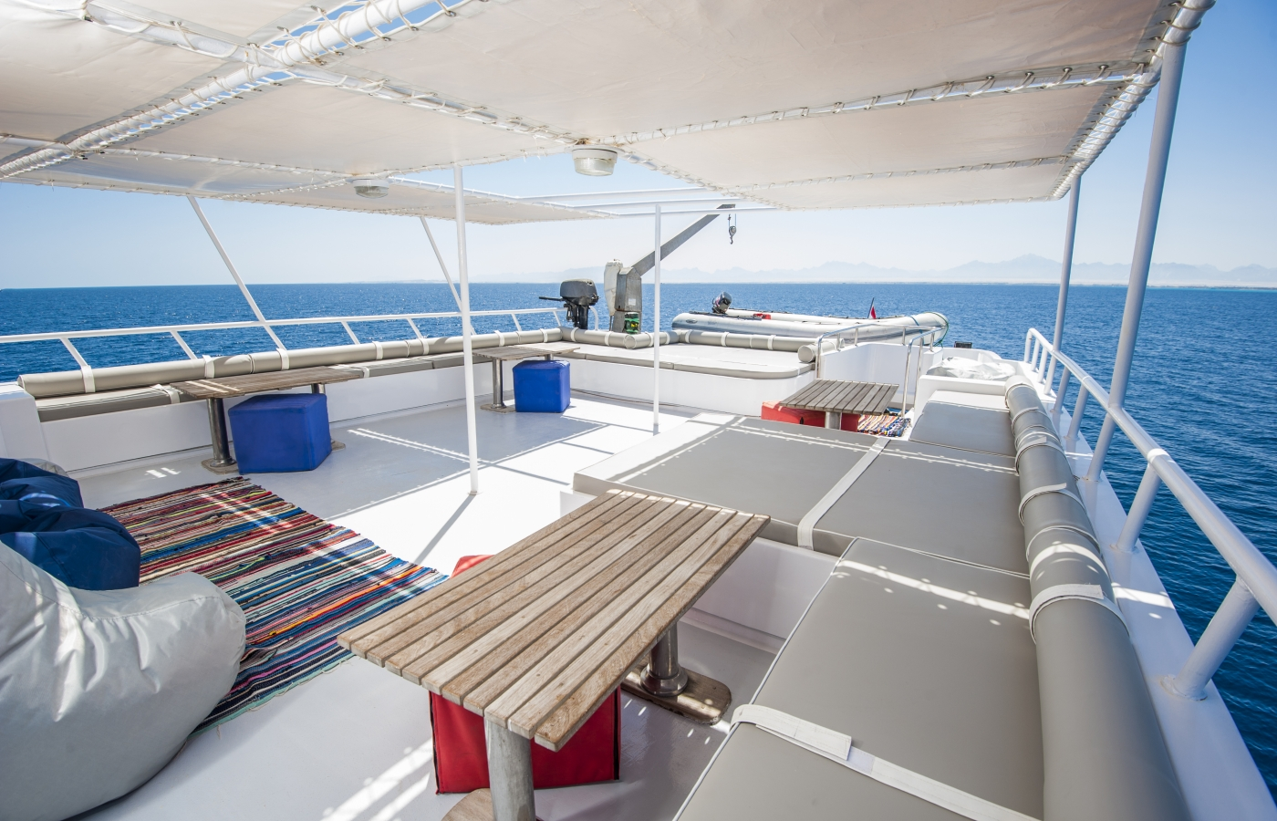Charter boat in the Red Sea Egypt