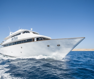 Motoryacht in the Red Sea Egypt