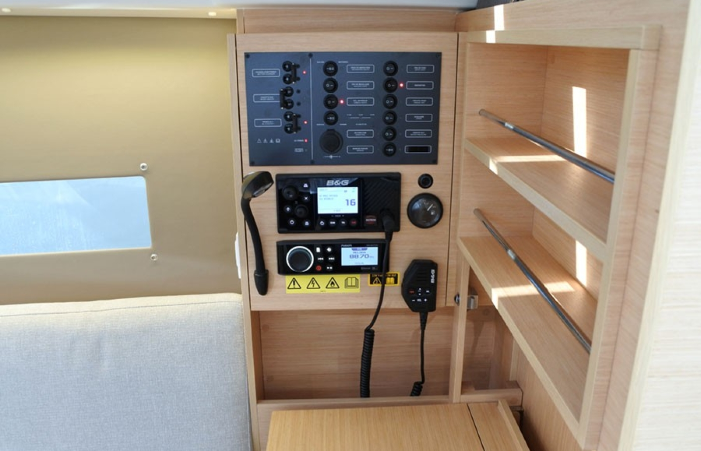 On board technical equipment
