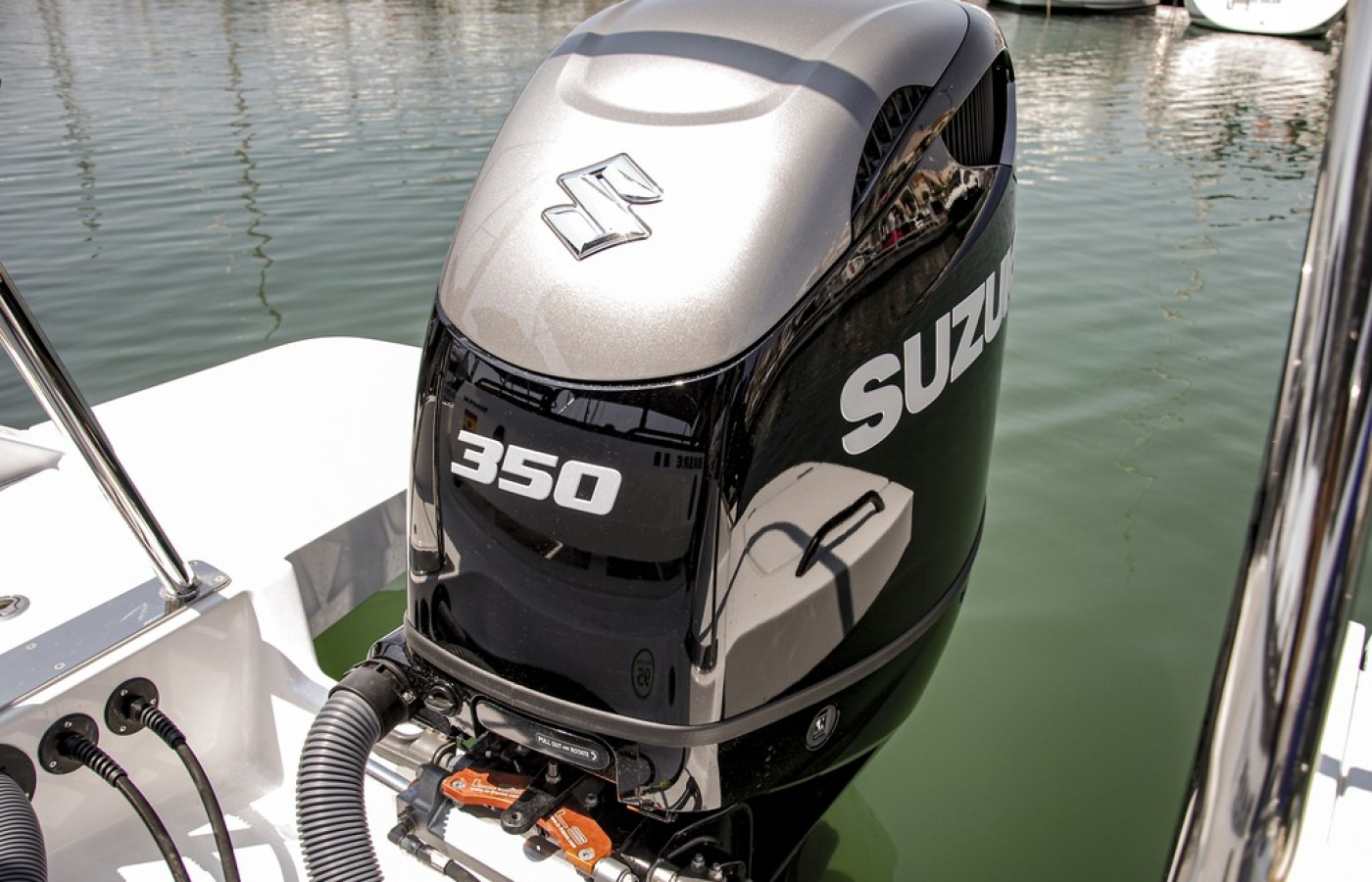 Engine of the Boat