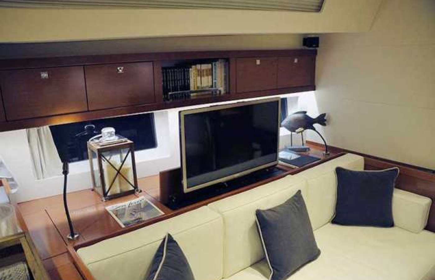 TV's available on board