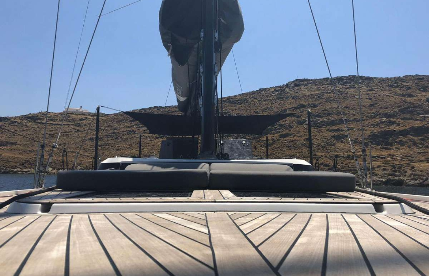 Floor of the boat
