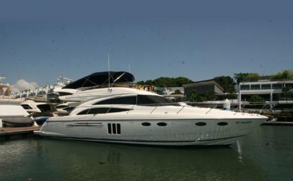 58 Princess 58 Flybridge Luxury Yacht 2007
