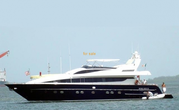 92 Antago Pilothouse MY Luxury Yacht 1996