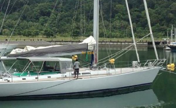 80' Casinelli Spa Custom Cruising Sailboat 1995