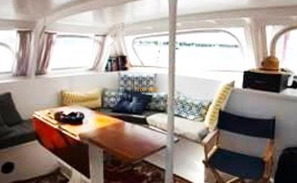 75' Custom Ketch Catamaran 1977 sailing yacht