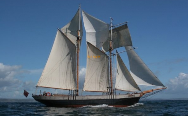 Top Sail Schooner by Rhoose Shipbuilders
